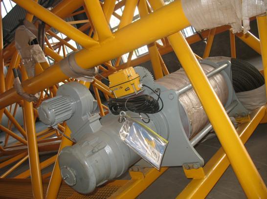 315型塔吊机的电路图接线图