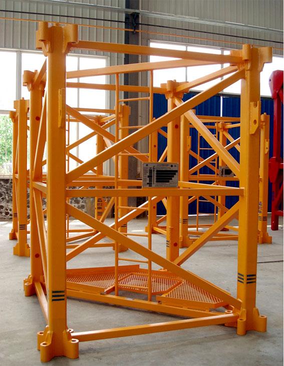 塔式起重机 山东鸿达QTZ160 6018 塔式起重机8吨塔吊塔机 阿里巴巴